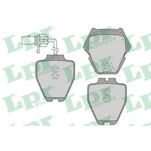 LPR 05P1121 Тормозные колодки