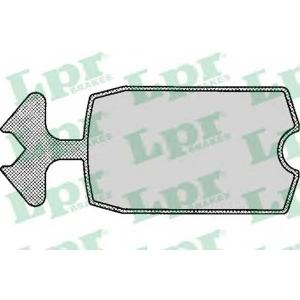 LPR 05P115 Brake Pad