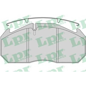 LPR 05P1152 Brake Pad