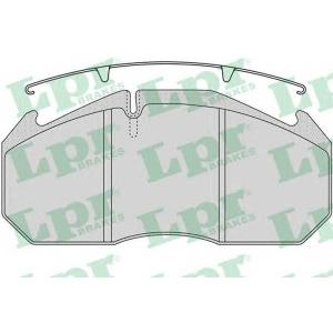 LPR 05P1162 Brake Pad