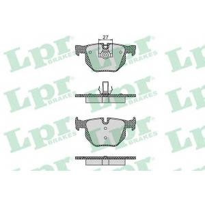 LPR 05P1194 Тормозные колодки дисковые