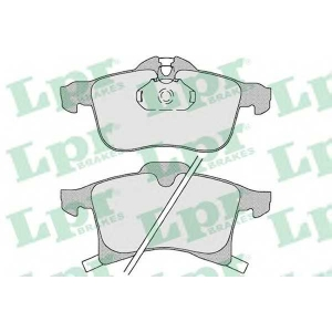 LPR 05P1197 Тормозные колодки