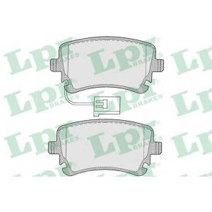 LPR 05P1206 Тормозные колодки
