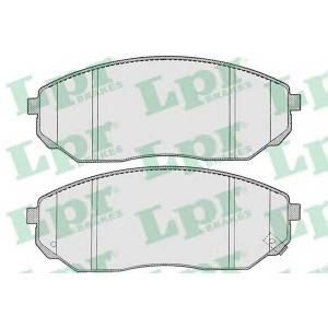 LPR 05P1207 Тормозные колодки дисковые