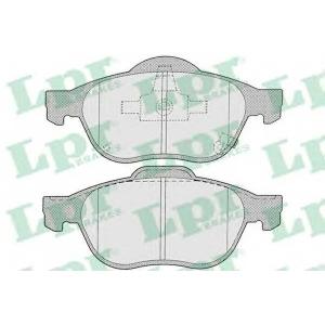 LPR 05P1215 Тормозные колодки
