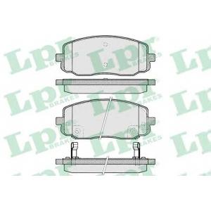 LPR 05P1220 Тормозные колодки дисковые