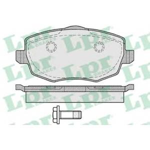 LPR 05P1223 Комплект тормозных колодок, дисковый тормоз