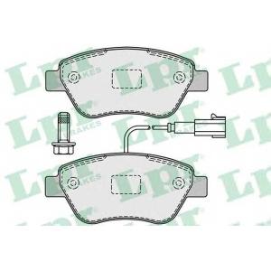 Комплект тормозных колодок, дисковый тормоз 05p1225 lpr - FIAT DOBLO (119) вэн 1.9 JTD (223AXE1A)