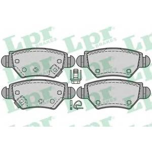 LPR 05P1227 Тормозные колодки дисковые