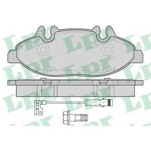 LPR 05P1228 Тормозные колодки дисковые