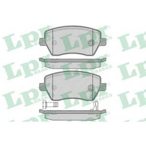 LPR 05P1229 Тормозные колодки
