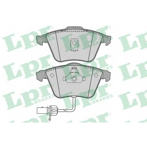LPR 05P1230 Тормозные колодки дисковые