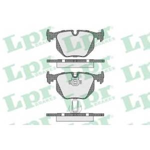 LPR 05P1231 Тормозные колодки дисковые