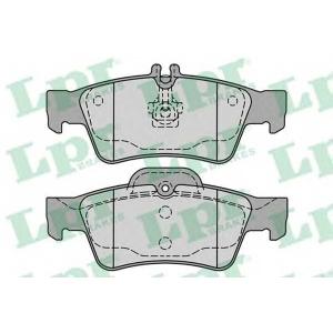 LPR 05P1232 Тормозные колодки