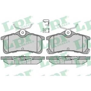 LPR 05P1233 Тормозные колодки