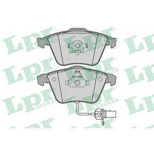 LPR 05P1239 Тормозные колодки дисковые
