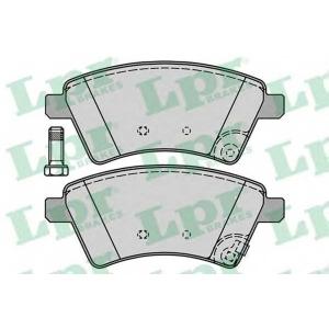 Комплект тормозных колодок, дисковый тормоз 05p1245 lpr - FIAT SEDICI вездеход закрытый 1.6 16V