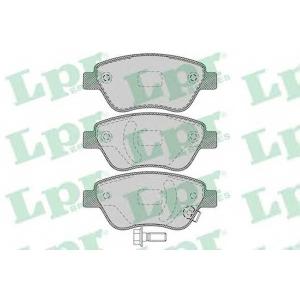 LPR 05P1247 Тормозные колодки дисковые