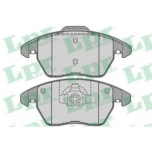 LPR 05P1248 Тормозные колодки дисковые