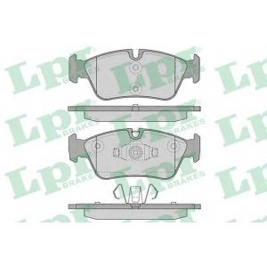LPR 05P1250 Тормозные колодки дисковые