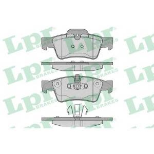 LPR 05P1254 Тормозные колодки дисковые