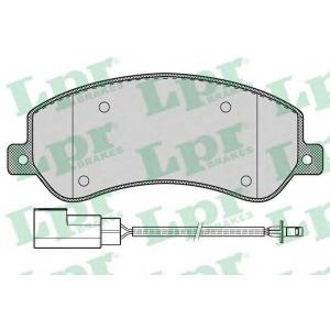 Комплект тормозных колодок, дисковый тормоз 05p1260 lpr - FORD TRANSIT TOURNEO автобус 2.2 TDCi