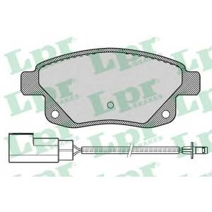 Комплект тормозных колодок, дисковый тормоз 05p1261 lpr - FORD TRANSIT TOURNEO автобус 2.2 TDCi
