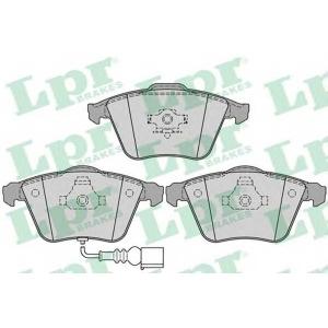 LPR 05P1270 Тормозные колодки дисковые