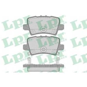 LPR 05P1273 Тормозные колодки дисковые