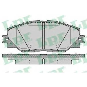 LPR 05P1282 Тормозные колодки дисковые