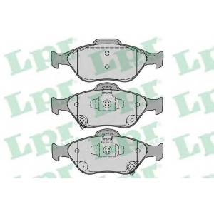 LPR 05P1283 Тормозные колодки дисковые