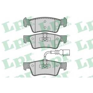 LPR 05P1284 Тормозные колодки дисковые