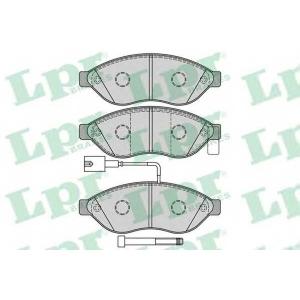 LPR 05P1287 Тормозные колодки