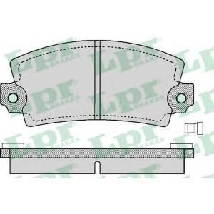 LPR 05P129 Комплект тормозных колодок, дисковый тормоз Дача 1310