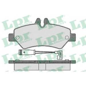 LPR 05P1293 Тормозные колодки