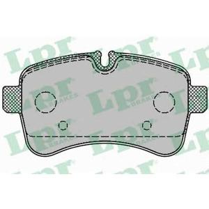 LPR 05P1296 Тормозные колодки