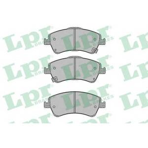 LPR 05P1313 Тормозные колодки дисковые