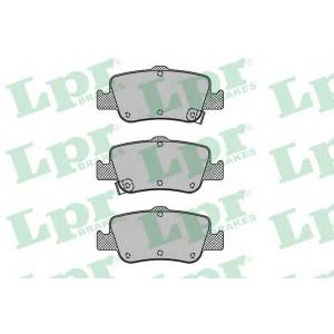 Комплект тормозных колодок, дисковый тормоз 05p1315 lpr - TOYOTA AURIS (ZZE15_, ADE15_, ZRE15_, NDE15_) Наклонная задняя часть 1.8