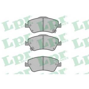 LPR 05P1316 Тормозные колодки дисковые