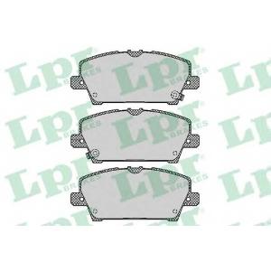 LPR 05P1317 Тормозные колодки дисковые