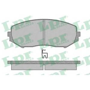 Комплект тормозных колодок, дисковый тормоз 05p1318 lpr - SUZUKI GRAND VITARA II (JT) вездеход закрытый 1.6 Allrad