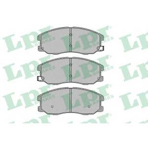 LPR 05P1322 Тормозные колодки