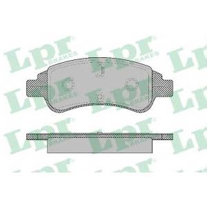 LPR 05P1327 Тормозные колодки