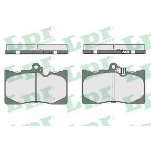 LPR 05P1331 Тормозные колодки