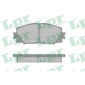 LPR 05P1333 Тормозные колодки