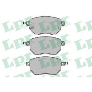 LPR 05P1342 Тормозные колодки