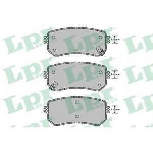 LPR 05P1344 Тормозные колодки