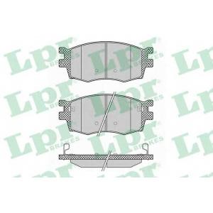 Комплект тормозных колодок, дисковый тормоз 05p1345 lpr - KIA RIO II (JB) Наклонная задняя часть 1.4 16V