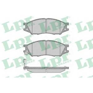 05p1346 lpr Комплект тормозных колодок, дисковый тормоз NISSAN ALMERA Наклонная задняя часть 1.5