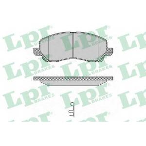 LPR 05P1347 Тормозные колодки